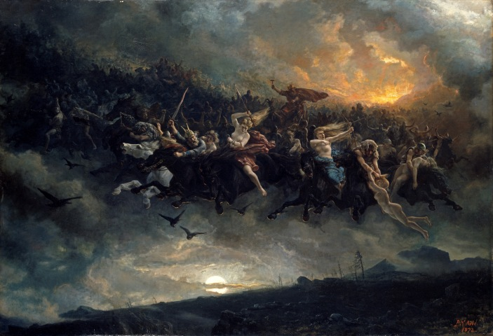 NOR Åsgårdsreien, ENG The wild Hunt of Odin