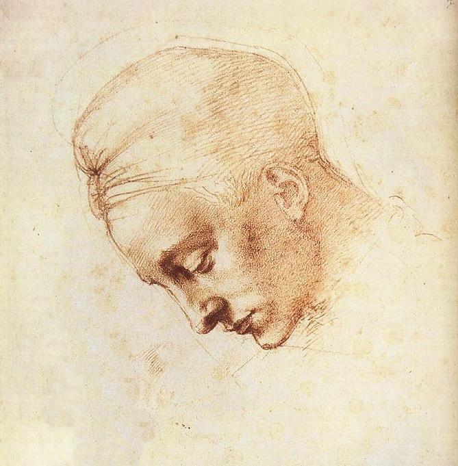 ledas-head-study-michelangelo-buonarroti